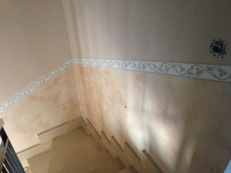 Su pintor pintura y decoraci n de interiores - Cenefas para pasillos ...