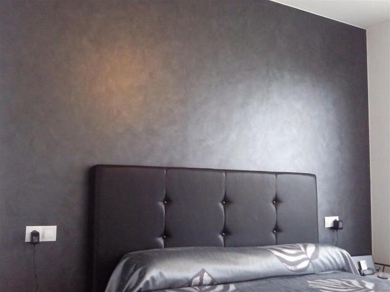 Su pintor pintura metalizada para paredes for Pintura plateada para pared
